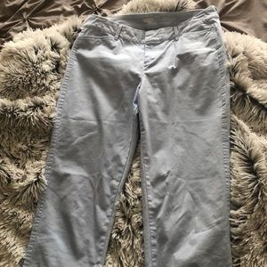 Old navy light blue pixie pants